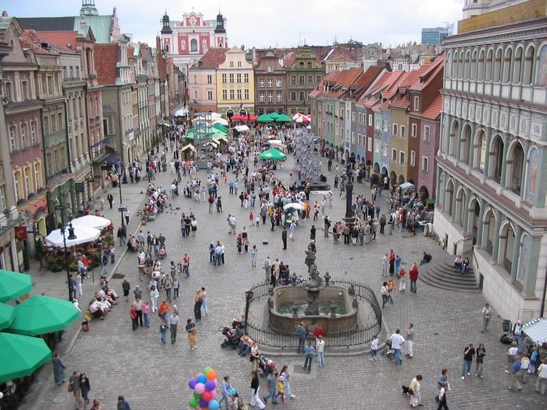 Posen Marktplatz