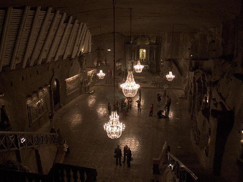 Wieliczka-Kaplica św. Kingi