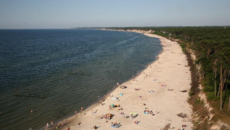 Strand bei Ustka