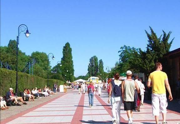 Promenade in Swinemünde