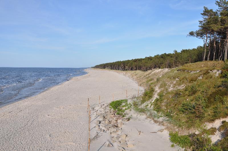 Strand von Mrzeżyno