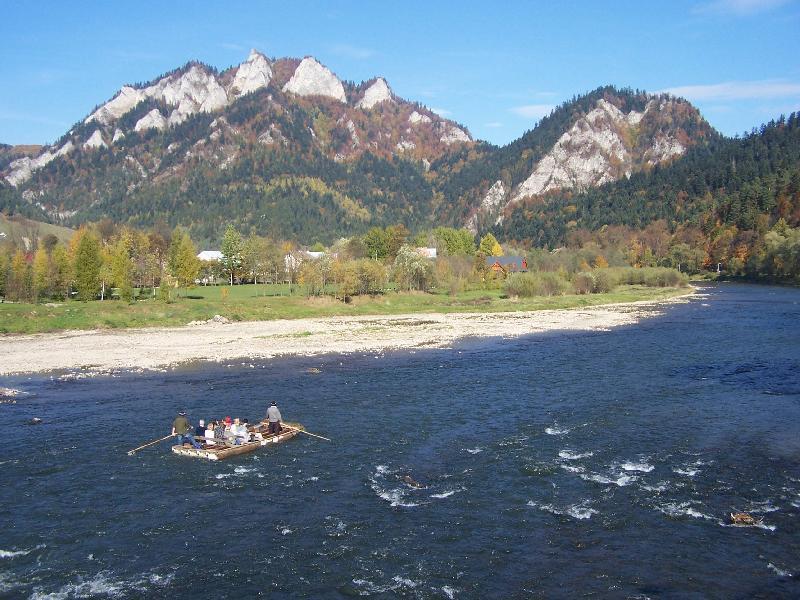 Flossfahrt auf dem Dunajec