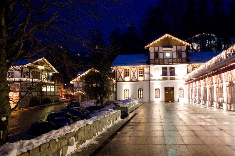 Szczawnica - ein Winterabend