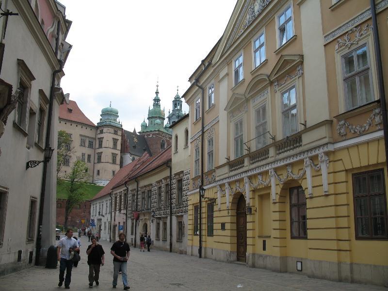 Kraków - ul. Kanonicza