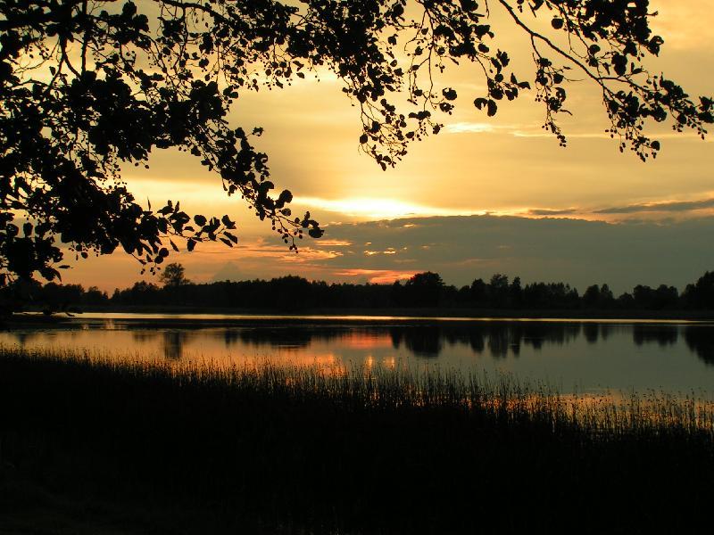 Jezioro Tajno na Mazurach