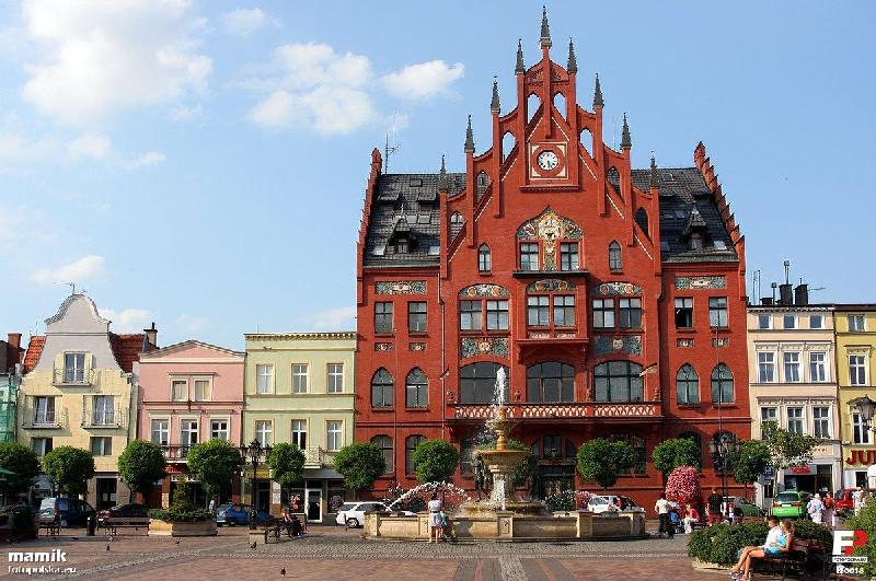 Rathaus in Chojnice