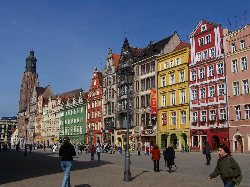 Kamiennice na rynku - Wrocław
