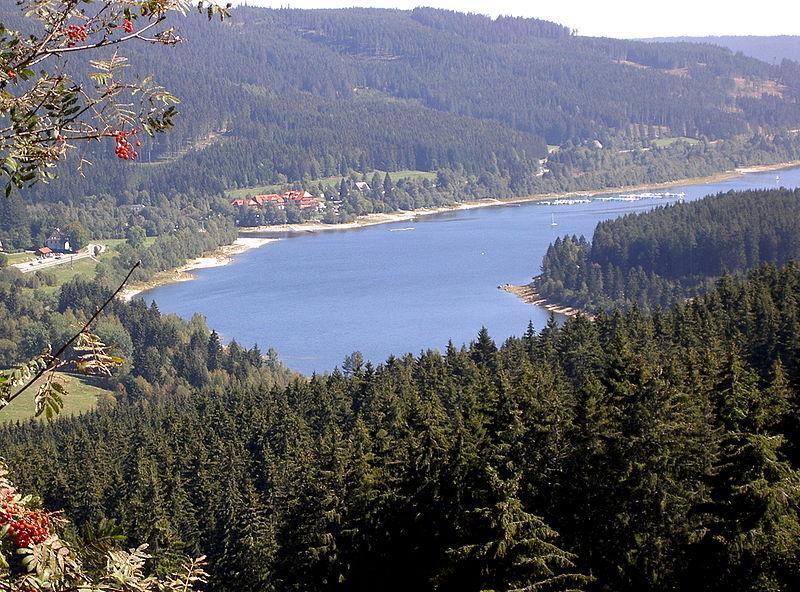 Schluchsee im Hochschwarzwald