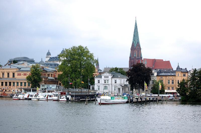 Blick auf die Altstadt von Schwerin