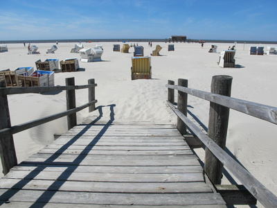 Strand in St. Peter Ording