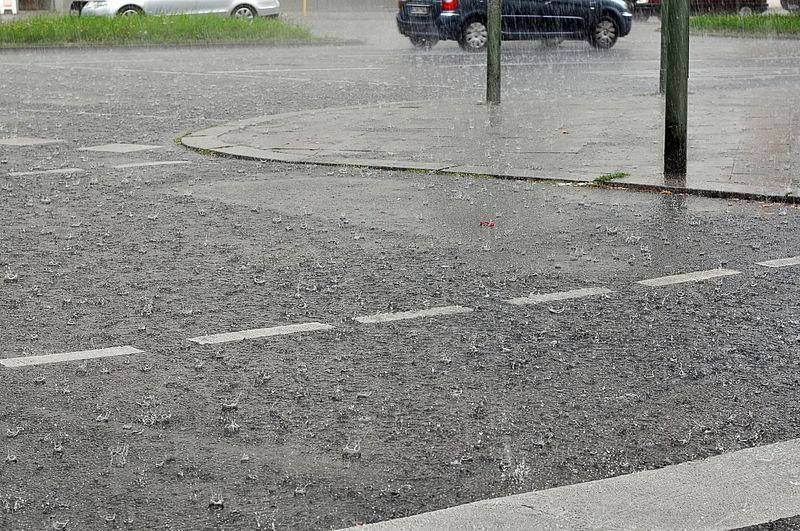 Bei schlechtem Wetter