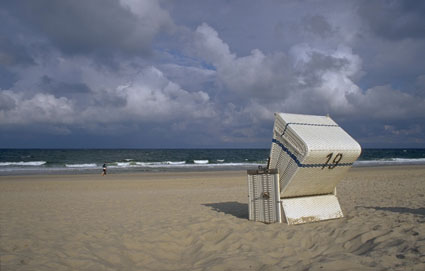 Beach chair Sylt