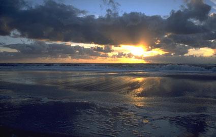 Sonnenuntergang Sylt