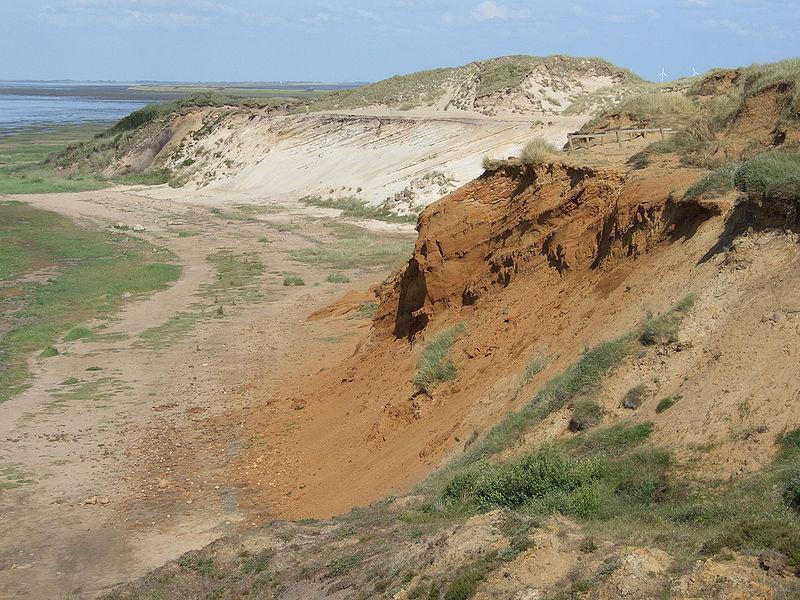 Steilküste Morsumer Kliff