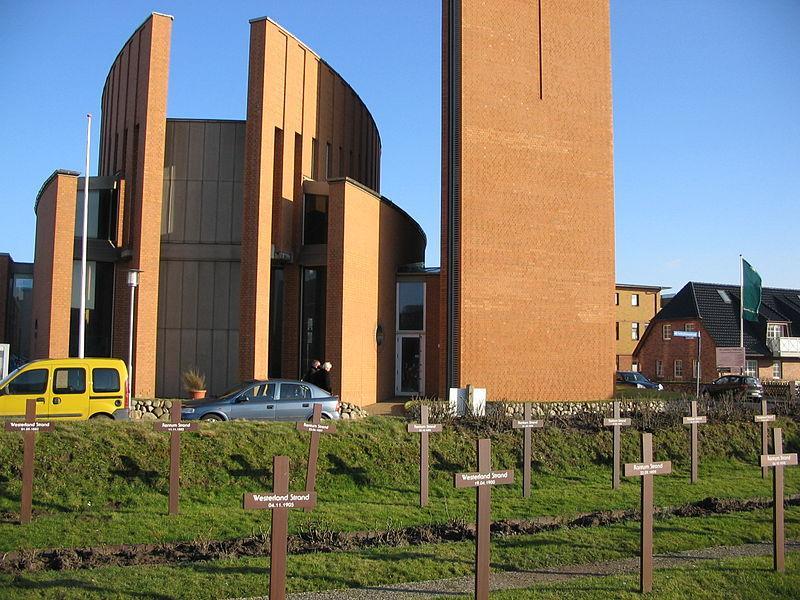 Friedhof der Heimatlosen in Westerland