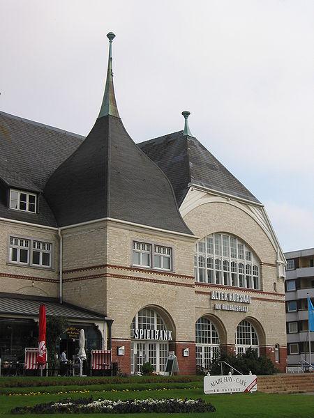 Rathaus und Casino in Westerland