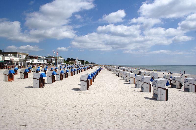 Strand in Grömitz