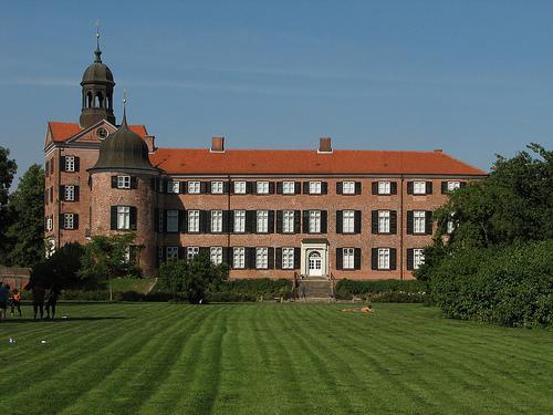 Das Eutiner Schloss aus dem 13. Jh.