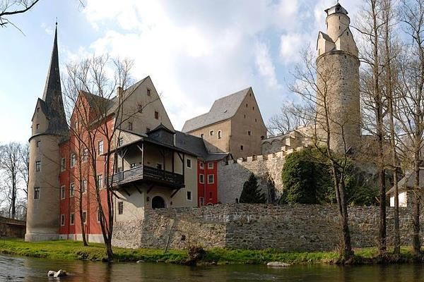 Burg Stein im Erzgebirge