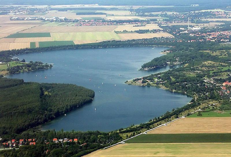 Der Kulkwitzer See in Leipzig West
