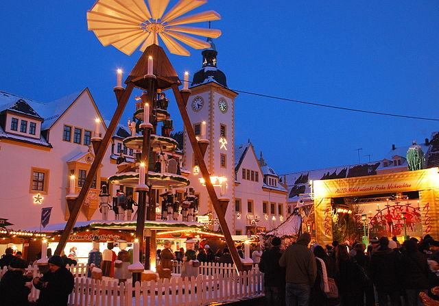 Weihnachtsmarkt in Freiberg