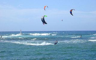 Kitesurfen auf Spiekeroog