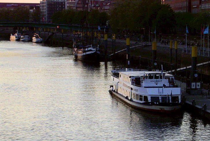 Bootstouren auf der Weser