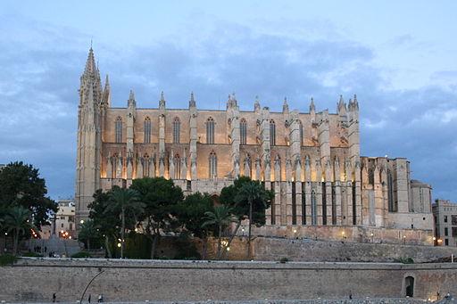 Cathedral La Seu in Palma