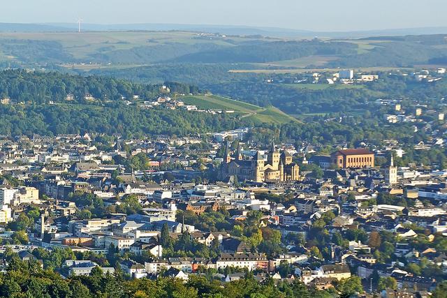 Blick über die Stadt Trier