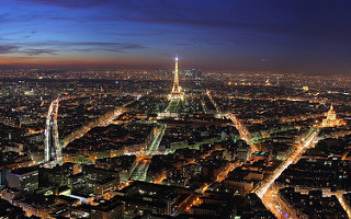 Stadtblick von Paris