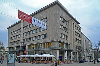 Lichtburg in der Innenstadt