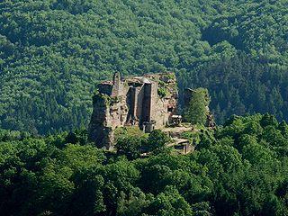Die Burg Fleckenstein