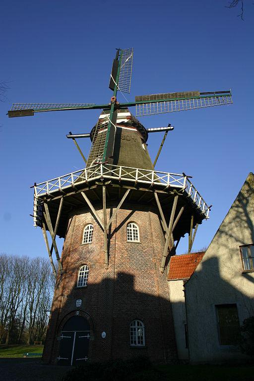 Mühle De Vrouw Johanna in Emden
