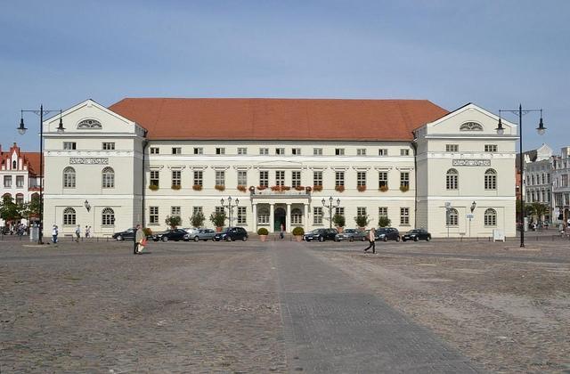 Das Rathaus von Wismar