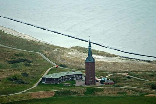 Westturm auf Wangerooge mit Jugendherberge