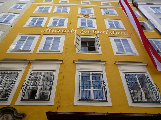 Geburtshaus von Mozart