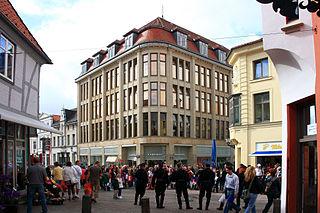 Karstadt Stammhaus in Wismar