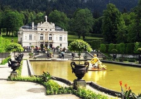 Schloss Linderhof in Garmisch-Partenkirchen