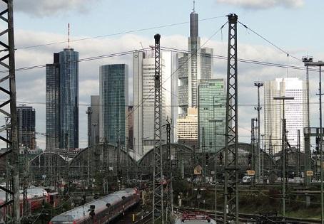 Der Frankfurter Hauptbahnhof liegt im Gallus