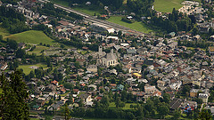 Luftbild von Kitzbühel