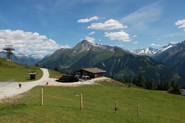 Mayrhofen Ausblick
