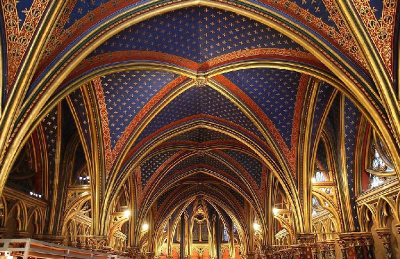 Die Heilige Kapelle in Paris