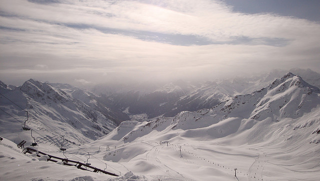 Montafon im Winter