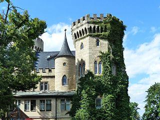 Schloss Landsberg in Meiningen