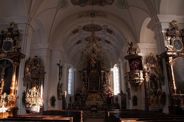 Pfarrkirche St.Sixtus von innen