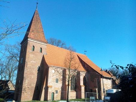Die St. Nikolai-Kirche in Bardowick liegt in der denkmalgeschützten Anlage St. Nikolaihof