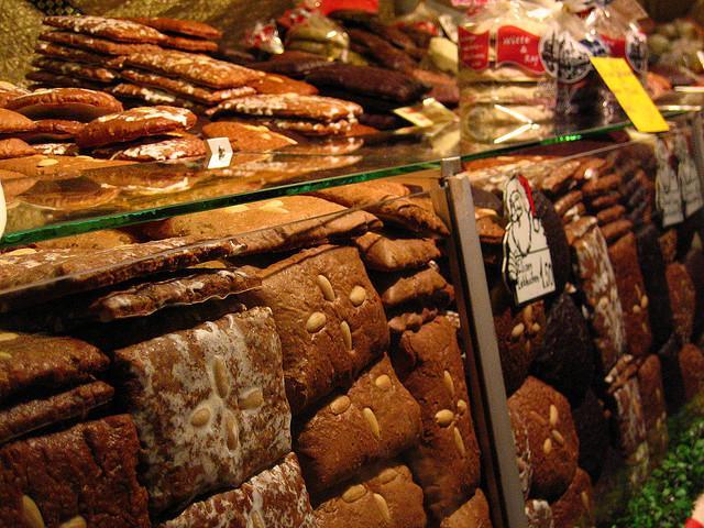Lebkuchen auf dem Nürnberger Christkindlesmarkt