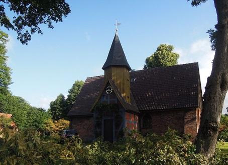 Die Kapelle ist Johannes dem Täufer geweiht