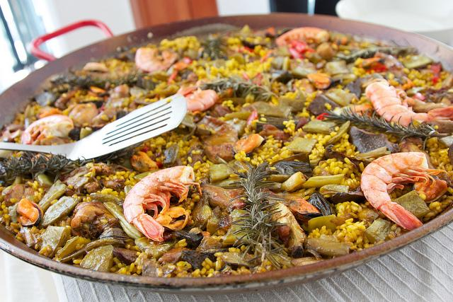 Spain Culinary: Paella