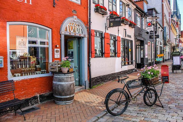 Rote Straße in Flensburg